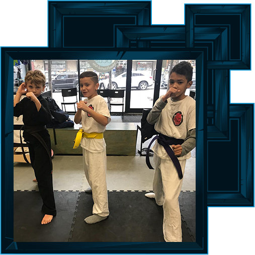KIDS DON'T GET LABELED IN MARTIAL ARTS